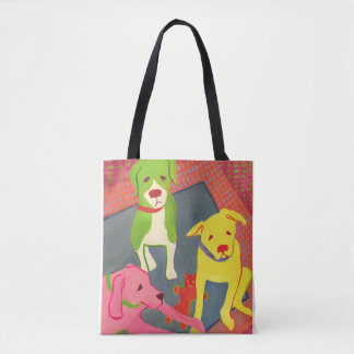 (Your town) is for Dog Lovers Tote Bag