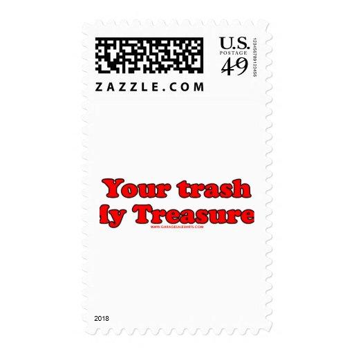 Your Trash My Treasures Postage
