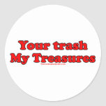 Your Trash My Treasures Sticker