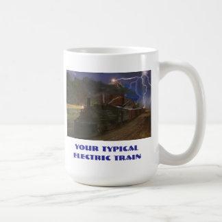 Your Typical Electric Train Coffee Mug
