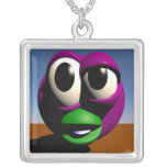 Your Ugly Grub Necklace