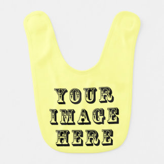 Your Vacation Picture on Baby Bib