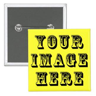 Your Vacation Picture on Pinback Button