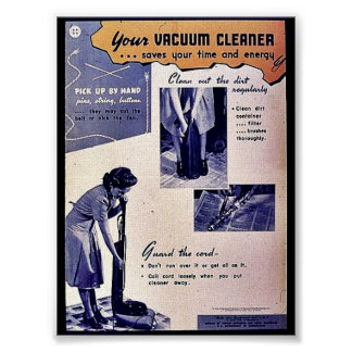 Your Vacuum Cleaner Poster