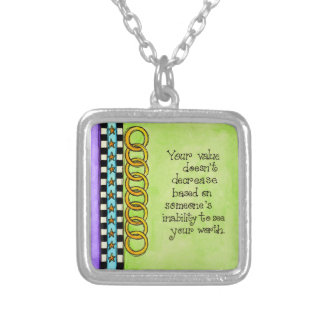 Your Value Silver Plated Necklace