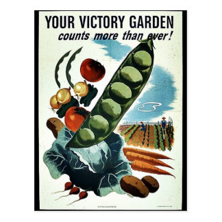 Your Victory Garden Postcards