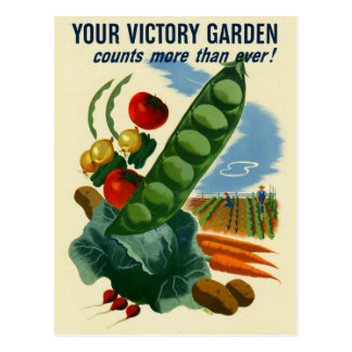 Your Victory Garden Postcard