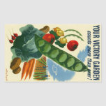 Your Victory Garden Rectangle Stickers