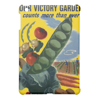 Your Victory Garden Vintage WW2 Poster iPad Mini Covers