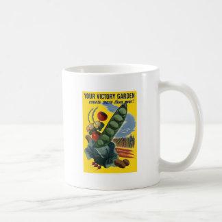 Your Victory Garden Vintage WW2 Poster Mug