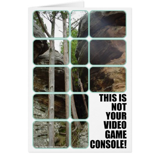 Your Video Game Console Card