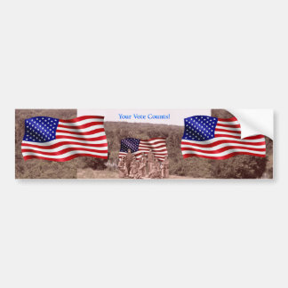 Your Vote Counts - Civil War - Multiple Products Bumper Sticker