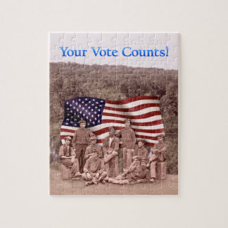 Your Vote Counts - Civil War - Puzzle