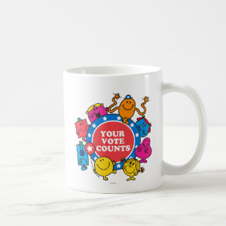 Your Vote Counts! Coffee Mug