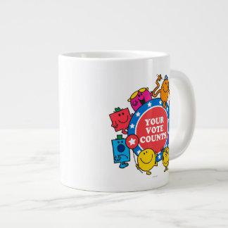 Your Vote Counts! Large Coffee Mug