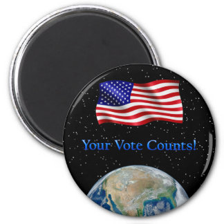 Your Vote Counts - Multiple Products Magnet