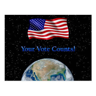 Your Vote Counts - Multiple Products Postcard
