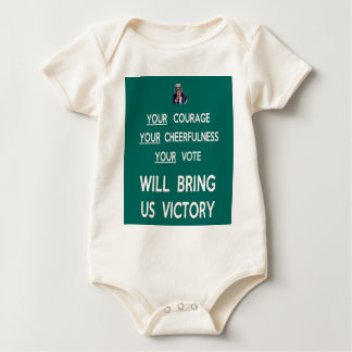 Your Vote Will Bring Us Victory Baby Bodysuit