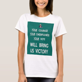 Your Vote Will Bring Us Victory T-Shirt