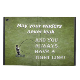 Your waders | Tight Line; Fly fishing quote Powis iPad Air 2 Case