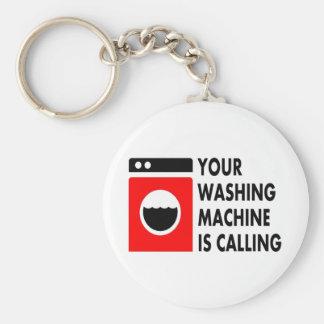 Your Washing Machine is Calling Keychain