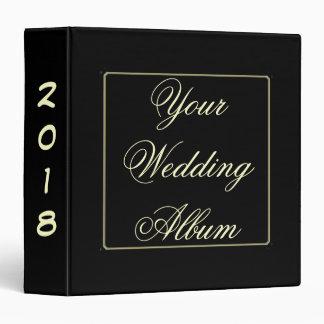 Your Wedding Album 2 ~ Choose any year! 3 Ring Binder