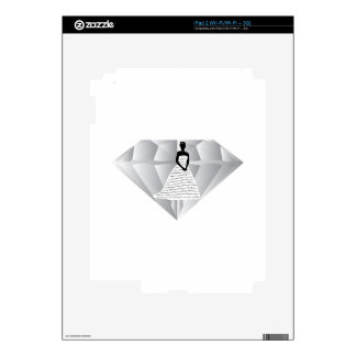Your Wedding Diamond Skin For The iPad 2