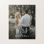 """your wedding photo personalized unique keepsake jigsaw puzzle<br><div class=""""desc"""">customize with your photo for any occasion,  special gift or souvenir</div>"""