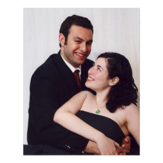 Your wedding Pictures on Canvas Posters