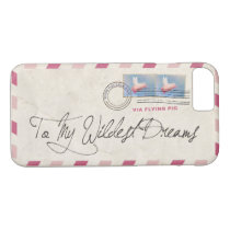 Your Wildest Dreams Via Flying Pigs iPhone 8/7 Case