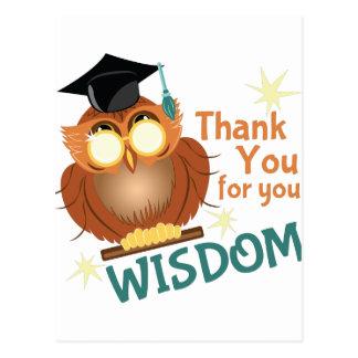 Your Wisdom Postcard