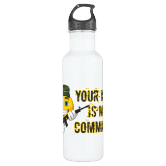 Your Wish Is My Commando Water Bottle