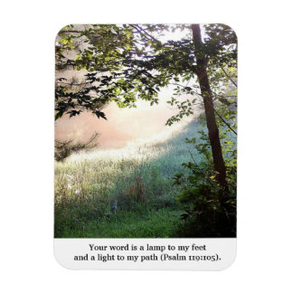 Your Word is a Lamp Dawn Rectangular Photo Magnet