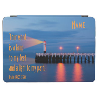 Your Word Is a Light Psalm 119:105 Bible Verse iPad Air Cover