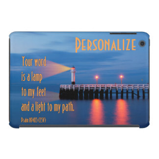 Your Word Is a Light Psalm 119:105 Bible Verse iPad Mini Retina Cases