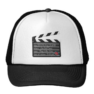 Your Words Personalize Movie Director Clapboard Trucker Hat