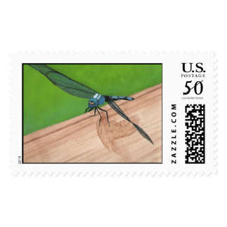 Your Words Realistic Dragonfly Painting Stamps