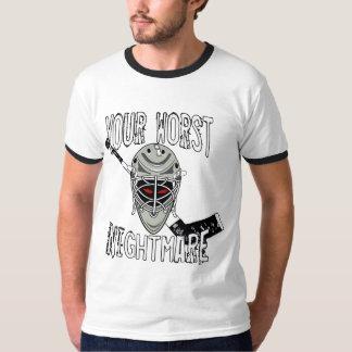 Your Worst Nightmare - Hockey T-Shirt