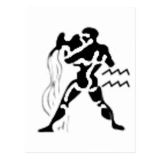 Your zodiac sign - Aquarius Postcard