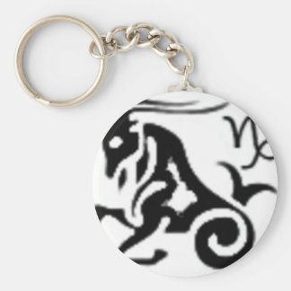 Your zodiac sign - Capricorn Keychain