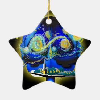 Youra Brain Ceramic Ornament