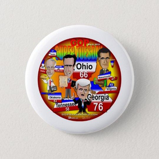Youra GOP Super Tuesday Pinback Button