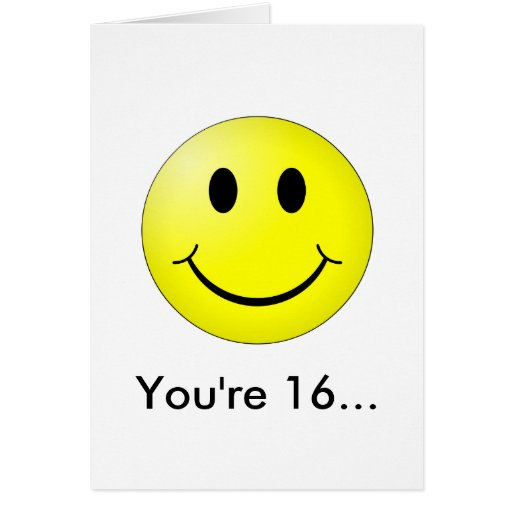 You're 16! cards