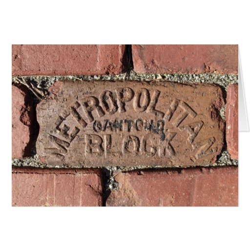 You're a Brick - Thank You Card