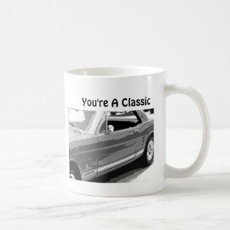 You're a Classic, Classic 1968 Mustang Coffee Mug