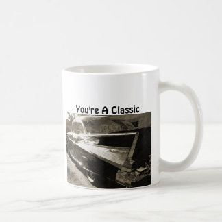 You're a Classic, Classic Chevy Belaire Coffee Mug