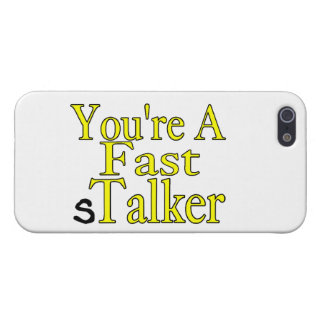 You're A Fast sTalker iPhone SE/5/5s Case