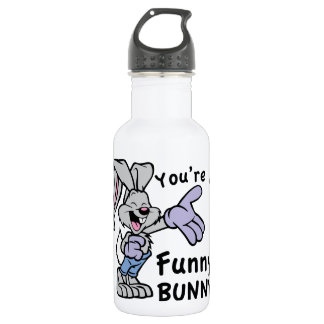 you're A Funny Bunny 18oz Water Bottle