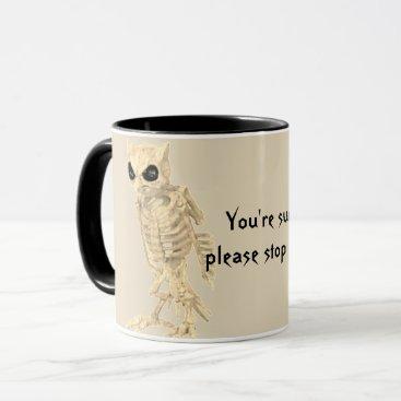 Halloween Themed You're A Hoot Mug