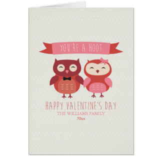 You're A Hoot | Valentine's Day Cards